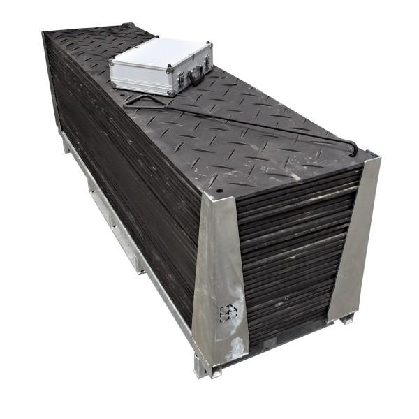 s:tek 28 · 30er Komplett-Set Bodenschutzplatten · 44,70 m² · 73,20 lfm