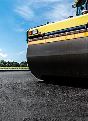 Produkte & Lösungen für den Strassenbau, Verkehrswegebau, Pflasterschutz und Asphaltschutz von securatek zum Verkauf und Vermietung