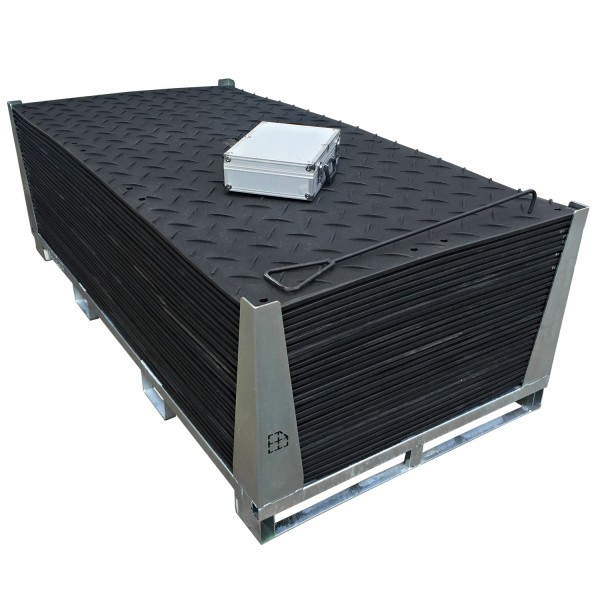 s:tek 48 · 30er Komplett-Set Bodenschutzplatten · 89,40 m² · 73,20 lfm