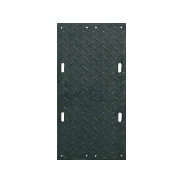 s:tek 36 · Hochleistungs-Bodenschutzplatte · 8mm/0mm beidseitige Profilstruktur (wählbar) · Belastbar bis ca. 67 Tonnen