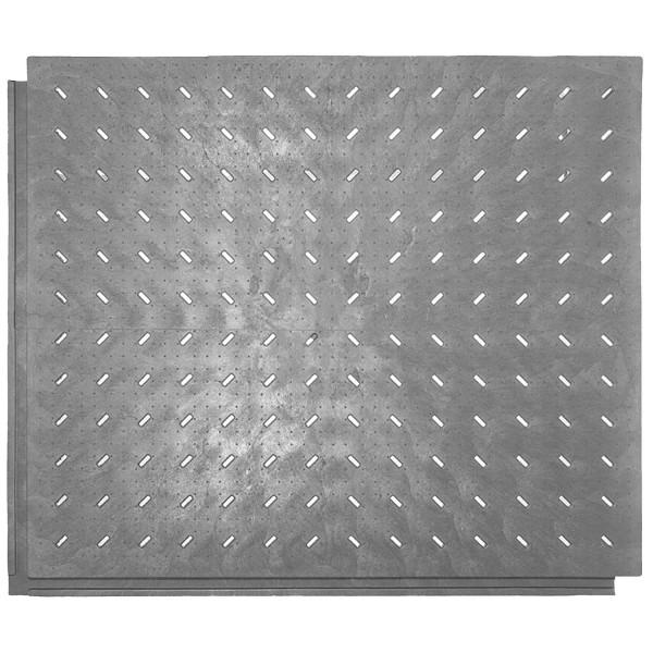 Bodenmatte FastFloor FF33 · Bodenmatte mit geschlitzter Oberfläche zum ableiten von Wasser & Feuchtigkeit für Waschplätze, Gewächshäuser, Baumschulen & Events.