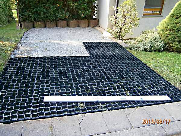 Lieblings Anlegen eines zusätzlichen PKW-Stellplatz im Vorgarten mit dem &SB_94