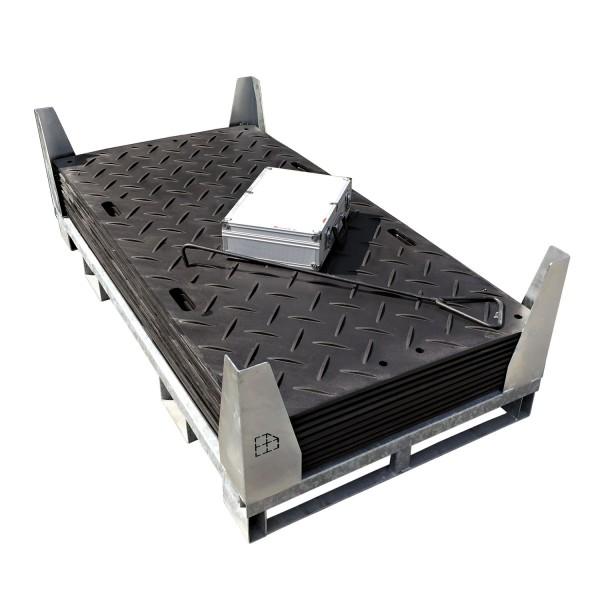 s:tek 36 · 10er Komplett-Set Bodenschutzplatten · 16,80 m² · 18,30 lfm