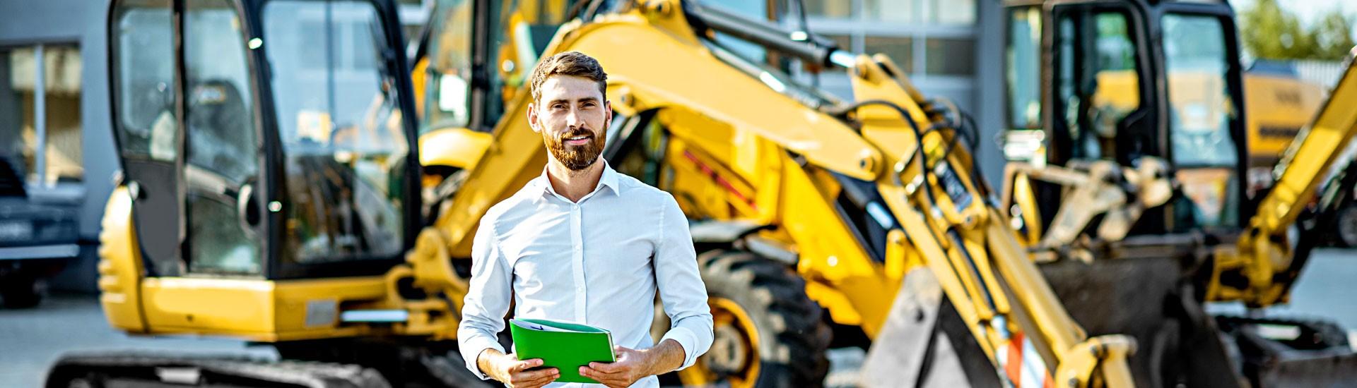 Produkte, Lösungen & Referenzen für den Baumaschinenhandel, Baugerätehandel, Baumaschinenverleih, Baugeräteverleih...