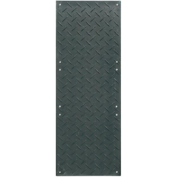 s:tek 38 · Bodenschutzplatte · 8mm/0mm/3mm beidseitige Profilstruktur (wählbar) · Belastbar bis ca. 90 Tonnen
