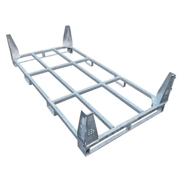 Beispielfoto: SmartStore Transportgestell, Transportbox inkl. 40cm Eckwinkel Für Fahrplatten und Bodenschutzplatten aus Kunststoff empfohlen.