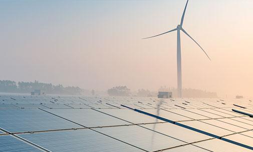 Windkraftanlagen & Solarparks