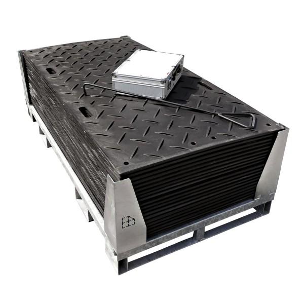 s:tek 36 · 20er Komplett-Set Bodenschutzplatten · 33,60 m² · 36,60 lfm