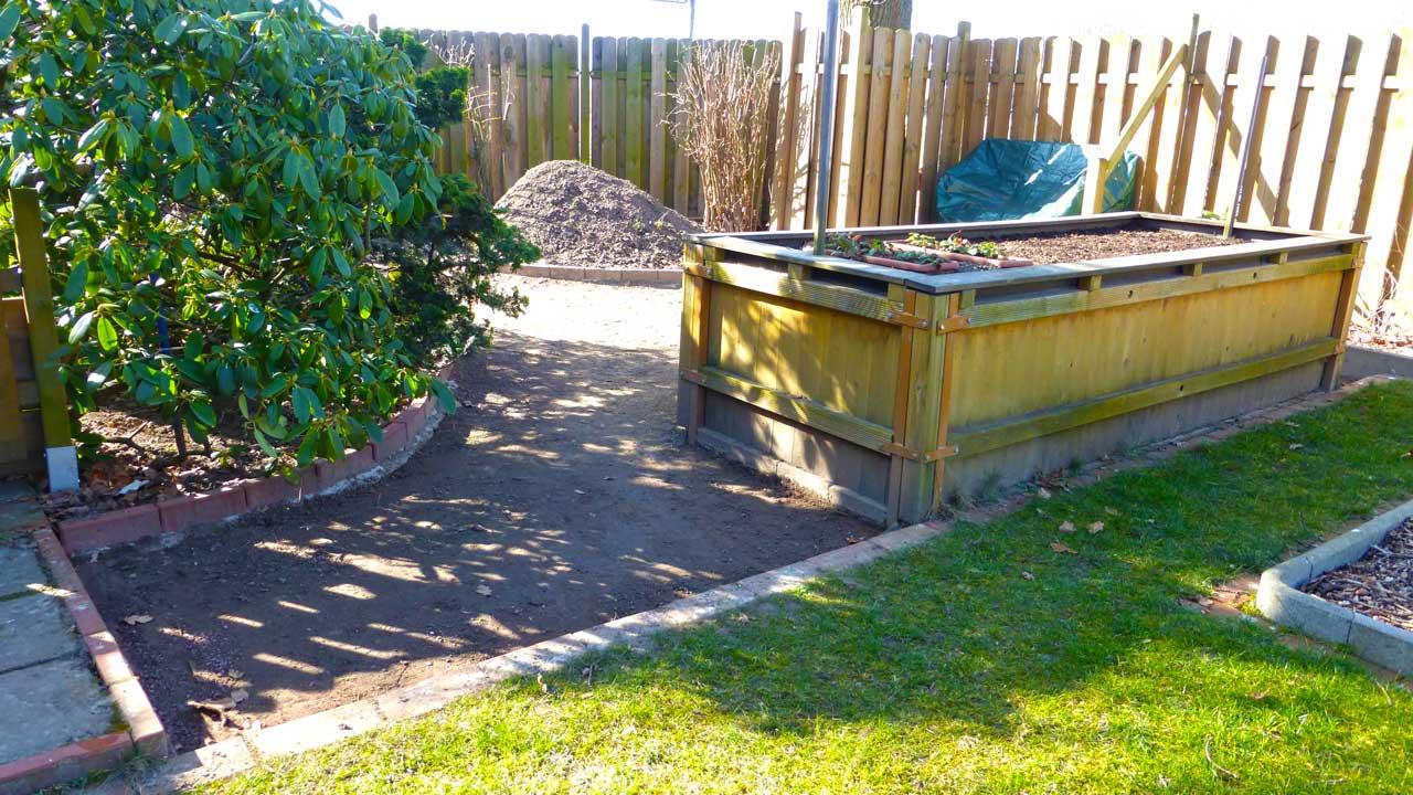 kiesweg anlegen elegant vorgarten mit kies anlegen anlegen eines kiesweg und gartenweg von die. Black Bedroom Furniture Sets. Home Design Ideas