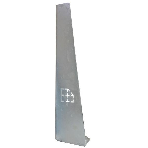 Stahlpalette · Sicherungswinkel (65 cm)