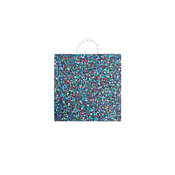 Abstützplatte · 500 x 500 x 40 · ca. 15,0 t/Stk · 0,25 m² · 25t Krangröße · 9,80 kg · 1 Tragegriff · HDPE Kunststoff
