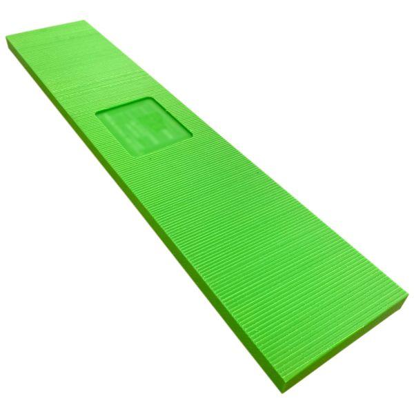 Unterlagbohlen / Unterlegebohlen aus langlebigen & robustem Kunststoff zur Unterlegung der Fußspindeln bzw. Gerüstfüße Fassadengerüste & Baugerüste statt Holz.