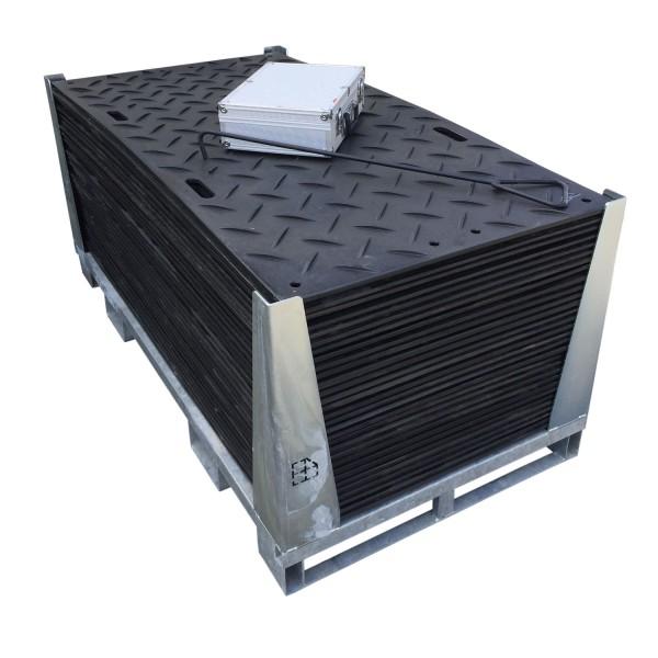s:tek 36 · 30er Komplett-Set Bodenschutzplatten · 50,40 m² · 54,90 lfm