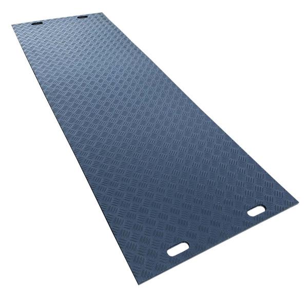 e:tek PRO · Lange Fahrplatte · 3000 x 1000 x 20 mm · 3,00 m² · Belastbar bis ca. 45 Tonnen · 55 kg