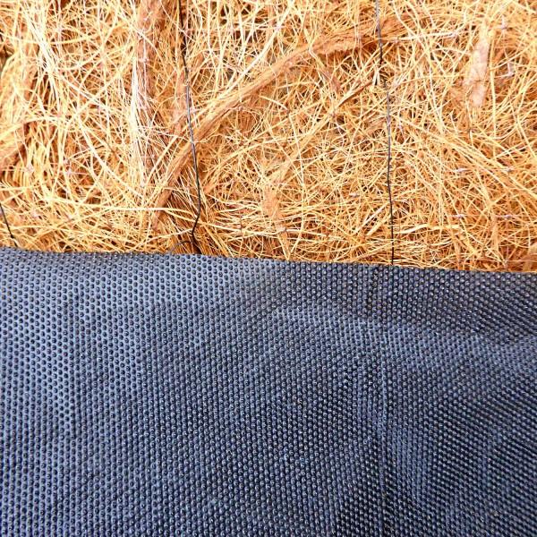 Mulchmatte Kokos MMK600 · 25 m² · 21000 x 1200 x 9 · 15,00 kg · 40° Böschung / Steigung · Kokos, Porenfolie · 3 Jahre Lebensdauer · Erosionsschutz