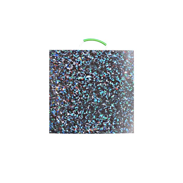 Abstützplatte · 600 x 600 x 40 · ca. 20,0 t/Stk · 0,36 m² · 40t Krangröße · 13,75 kg · 1 Tragegriff · HDPE Kunststoff