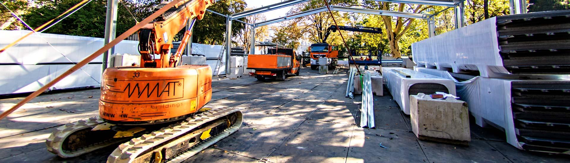 Eventboden & mobile Abdecksysteme für Eventflächen, Zelte, Bühnen, Versorgungswege & temporäre Infrastrukturen