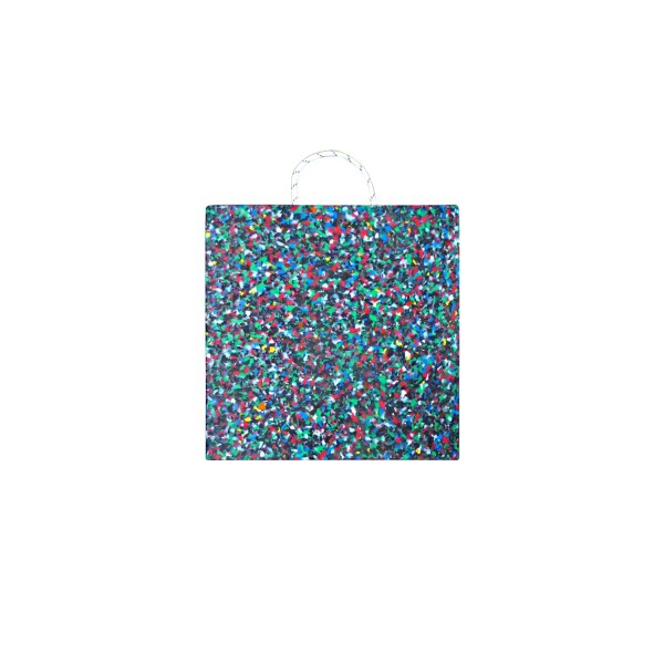Abstützplatte · 500 x 500 x 60 · ca. 20,0 t/Stk · 0,25 m² · 40t Krangröße · 14,25 kg · 1 Tragegriff · HDPE Kunststoff