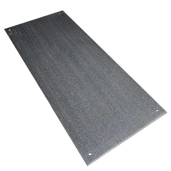 v:tek MINI · Starke Fahrplatte · 2000 x 800 x 12 mm· ca. 40t Belastbar · Profilierung 1mm · 20 kg leicht · Robuste Fahrplatten aus HDPE Kunststoff