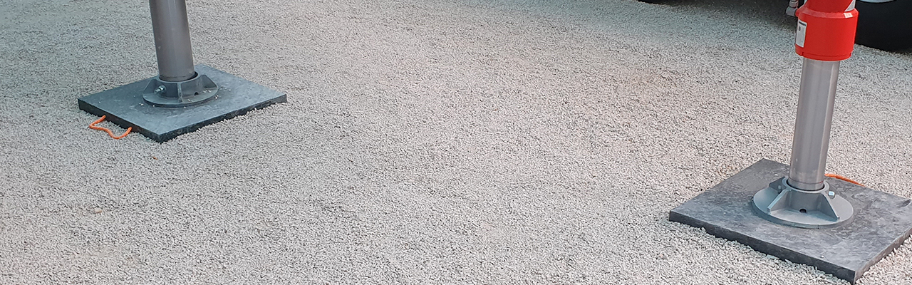 Abstuetzplatten