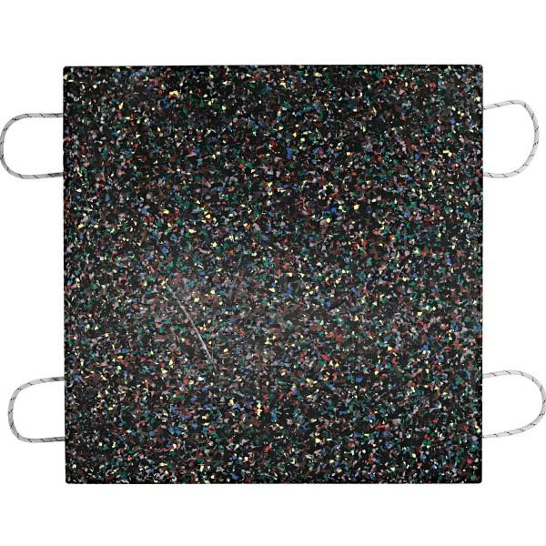 Kranplatte · 1000 x 1000 x 80 mm · ca. 70t/Stk · 1,00 m² · 120t Krangröße · 80,00 kg · 4 Tragegriffe · HDPE Kunststoff
