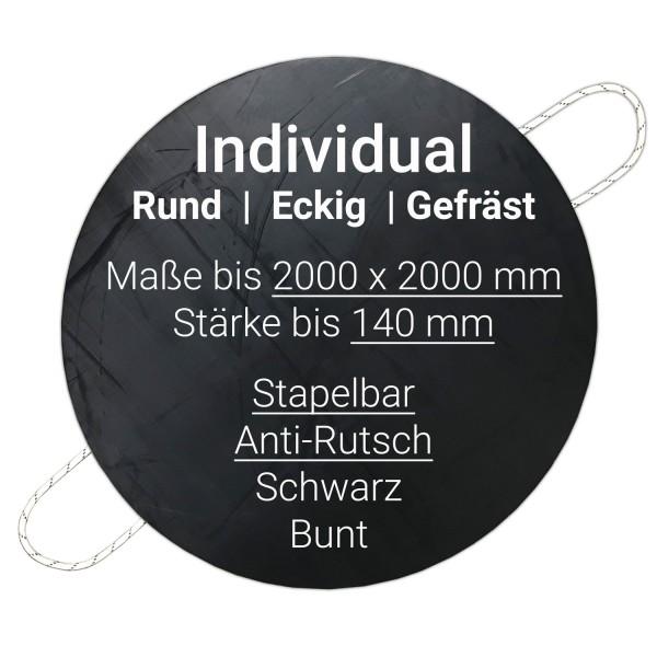 Unterlegplatte Kunststoff · Individual