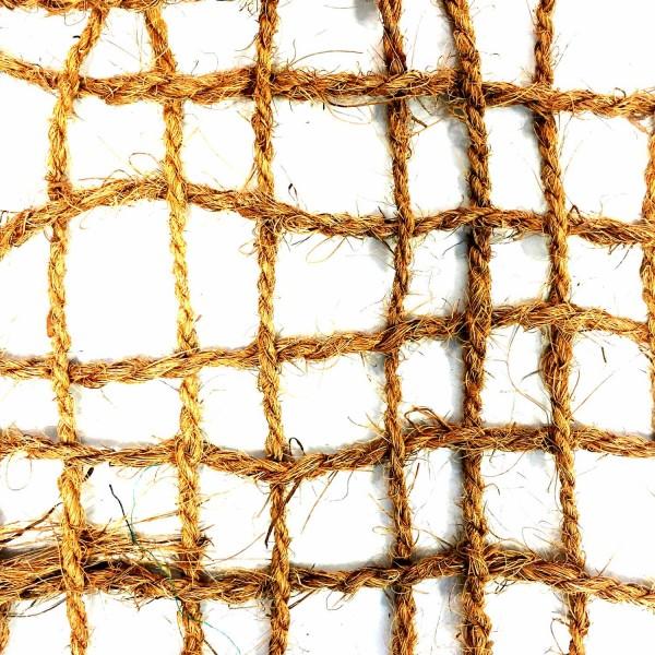 Kokosgewebe KG500 · 20 m²/Rolle · 20000 x 1000 x 5 · 10,00 kg · bis zu 40° Steigung · Kokos · 20-30 mm Fadenabstand · 3 Jahre Lebensdauer · Herkunft: Sri Lanka