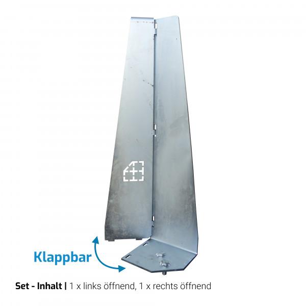 Sicherungswinkel 65cm, klappbar (Upgrade-Set)